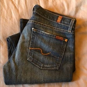 Seven For All Mankind Bootcut jean size 27